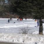 Pick-up Hockey Game