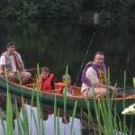 Canoeing and Fishing on Oathill